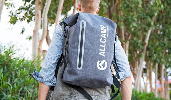 organizador de cochecito con cambiar de mat gran capacidad de pa/ñales cambiador de bolsa ALLCAMP Mochila de pa/ñales estilo vers/átil resistente al agua bolsa de pa/ñales para beb/és